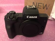 Canon EOS M50 Mirrorless Camera Body with 15-45mm IS Creator Kit, Battery & Mic