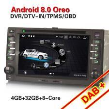KIA OPTIMA SPORTAGE RIO CARNIVAL CEE'D Sorento 8-Kern Android 8.0 Autoradio Navi