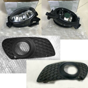 4x Car Left+Right Front Fog light Cover For Benz W164 ML300 ML350 ML500 2005-08