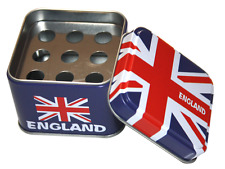 Unique Geek Gift Tin Designs Pocket Ash trays Smokers Gift - UK Flag