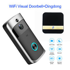 WiFi Wireless Doorbell HD Night Vision Video Camera Ring+Indoor Receiver For IOS