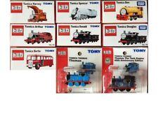 TAKARA TOMY TOMICA SET OF 9 THOMAS THE TRAIN ENGINE HARVEY ARTHUR BERTIE NEW
