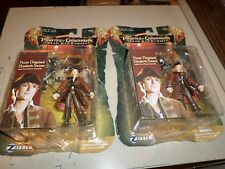 2 Disney Elizabeth Swann Pirates of Caribbean Dead Mans Chest Sword 3 3/4 figure