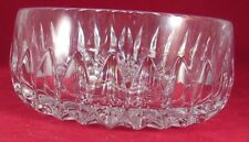 """GORHAM ALTHEA LEAD CRYSTAL CANDY/NUT/FRUIT BOWL 3"""" TALL"""