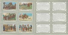 Liebig, Set 6 Cards, F1587D (Dutch), 1954, Falconry, Falcon, Horse, Hunting