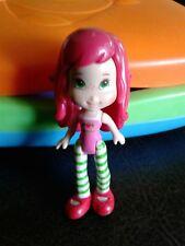 "3"" Plastic Strawberry Shortcake Doll 2008 TCFC Hasbro"