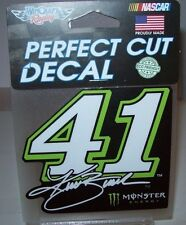 KURT BUSCH #41 MONSTER ENERGY WINCRAFT 4X4 DIE-CUT DECAL STICKER