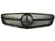 New C63 AMG Style Gloss Black Grill For C-Class Benz W204 C300 C350 2008-2014