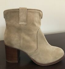 New Urban Outfitters Ankle Boots Sz 6 Women's Tan Suede Booties OU $125 L20