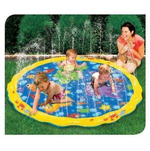 KIDS CHILDREN TODDLER SPRINKLE 'N SPLASH WATER FUN OUTDOOR GARDEN PLAY MAT