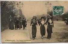 CP 75 Paris - Porte Dauphine - La Mode Nouvelle - Les Jupes-Pantalons