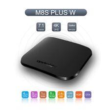 M8S PLUS W 1GB+8GB Android 7.1 TV Box 4K WIFI Wireless Media Player Streamer UK