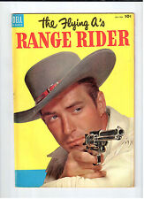 Dell FLYING A'S RANGE RIDER #4 December-February 1954 vintage western comic
