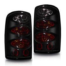 Tail Light For 00-06 Chevy Suburban Black / Smoke Lens PAIR