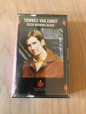 Townes Van Zandt Cassette SEALED - Delta Momma Blues - Folk Country Blues
