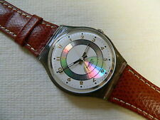 1992  Vintage Swatch Watch Orly. Leather band New in box