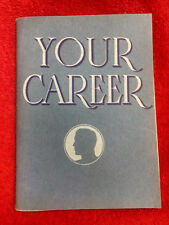 """Coca Cola """"Your Career"""" Booklet-1940-Articles from The Red Barrel house magazine"""