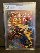 Fantastic Four #62 CBCS 5.0 1st Appearance of Bastaar Marvel (not CGC)