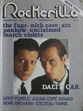 ROCKERILLA 52 1984 Dali's Car Unclaimed Atzec Camera Pankow Deep Purple Xtc Fugs