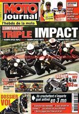 MOTO JOURNAL 1936 DUCATI 900 1100 Monster TRIUMPH 675 1050 KAWASAKI ER-5 2011