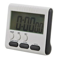 Minuteur LED Electronique-Magnétique-Cuisine Digital-Alarme écran-Magnétique
