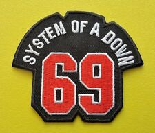 HEAVY METAL PUNK ROCK MUSIC SEW ON / IRON ON PATCH:- SYSTEM OF A DOWN (a) 69