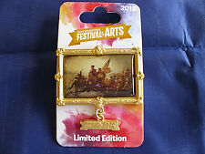 Disney* FESTIVAL of the ARTS - WASHINGTON CROSSING DELAWARE * New LE Trading Pin