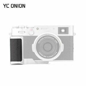 YC Onion Quick Release L Plate Holder Hand Grip Bracket For Fujifilm X100V DSLR