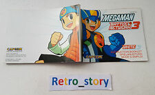 Nintendo Game Boy Advance GBA Mega Man Battle Network 3 Notice / Instruction
