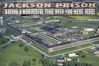 Southern Michigan State Prison at Jackson, Aerial View, Wish You ... -- Postcard