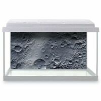 Fish Tank Background 90x45cm - Amazing Moon Crater Surface Space  #8438