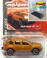 Majorette Dacia Duster dCi 110 Metallic Dark Orange 1:64 225A  Free Display Box