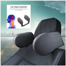 Headrest Car Seat Head Neck Support Pillow Leather Neck Shoulder Pillow Cushion