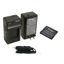 NB-11L Battery + Charger For Canon Powershot A2300 A2400 A2500 A2600 A3400 A3500