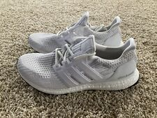 Adidas UltraBoost 4.0 Running Shoes Triple White BB6168 Men's Sizes