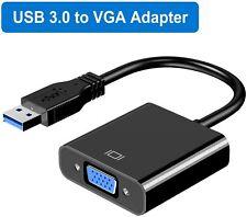 USB to VGA Adapter,USB 3.0 to VGA Adapter Multi-Display Video Converter- PC Lapt