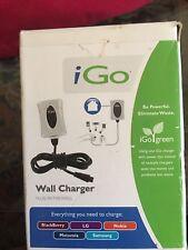 iGo Wall Charger - Multiple Compatibility: LG/Blackberry/Motorola/Nokia/Samsung