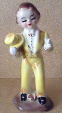 Vintage Arnart Imports Japan Josef Like Boy/Man Yellow Suit Tophat & Tails 50s