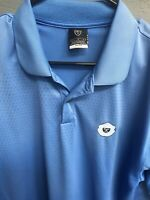 🔥✔️🔥Nike Golf Dri-Fit Short Polo Shirt Men's Size Large L Blue🔥✔️🔥