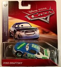 Disney Pixar Cars Dino Draftsky Clutch Aid # 121 Mattel Diecast 1:55 Scale 2018
