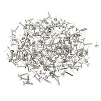 200 Pieces Split Pins Brads Silver Brads Paper Fasteners for Scrapbooking