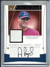 Albert Pujols 2004 Flair Autograph Game Used Jersey #37/100