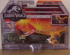 Jurassic World ~ Tyranno Hauler ~ Matchbox Dino Transporters