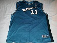 Michael Jordan 23 Washington Wizards NBA Reebok Blue Jersey Men's 2XL used