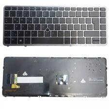 Tastatur für HP Elitebook 840 740 G1 G2 745 750 750 G1 850 G2 mit Beleuchtung