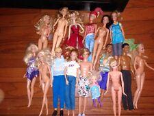 Mattel 16 Barbie Doll Lot Clothes Shoes Ken some Vintage Some Rare