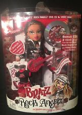 "Bratz Rock Angelz Yasmin Doll 9 ½"" w/Guitar & CD 2005 6+ NEW #297079"