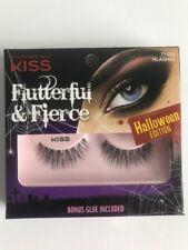 Kiss Flutterful & Fierce Halloween Edition Lashes 71022 HLASH01  NIB