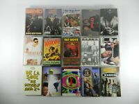 Old School Hip-Hop Cassette Tapes - EPMD, LL Cool J, De La Soul, PID, Heavy D