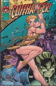 Italian edition comic book CLIFFHANGER # 13 ( DANGER GIRL CRIMSON BATTLE CHASER